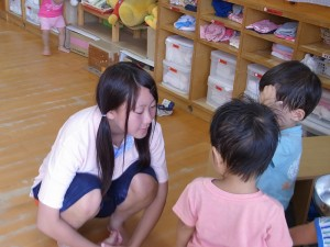保育体験ボランティア