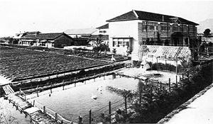 昭和8年 開校当時の天神校舎