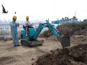 建設機械の運転2