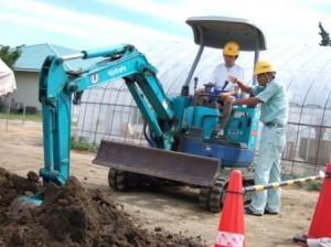 建設機械の運転1