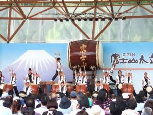 富士山太鼓まつりへの出演