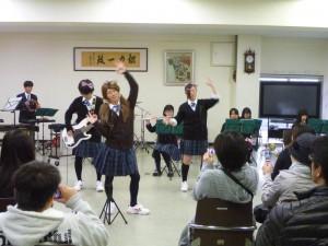吹奏楽部のコンサート