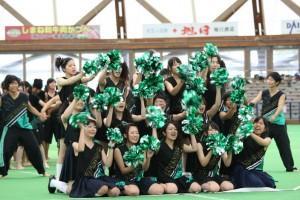 応援合戦(緑組)2