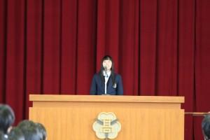準備開始にあたっての曽田農業クラブ会長の挨拶