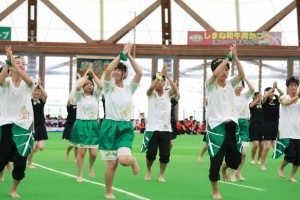 緑組の応援2
