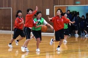 女子バスケット