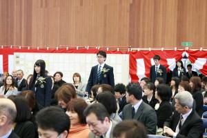 卒業生入場1