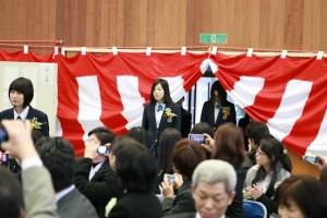 卒業生入場3