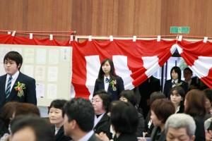 卒業生入場4