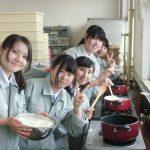 【食品科学科】大豆の加工(豆腐製造)