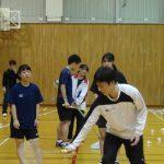 練習風景坂本さん