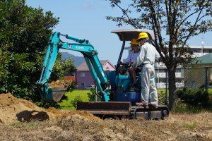 建設機械の運転
