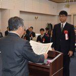 カヌー部が県知事さんから表彰されました!!
