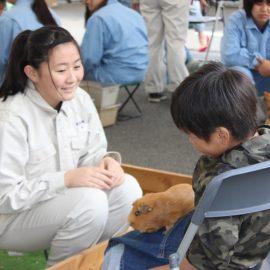 【動物科学科】移動動物園を開催しました!!