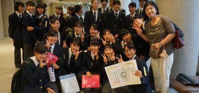 【吹奏楽部】吹奏楽コンクール県大会で銀賞を受賞しました