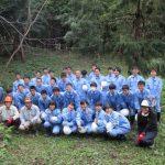 【環境科学科】林業就業促進支援事業
