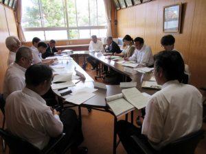第1回学校評議員会【出雲農林高校応接室】