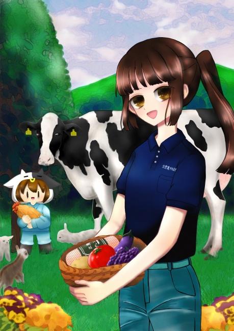 令和元年度農業祭ポスター原画