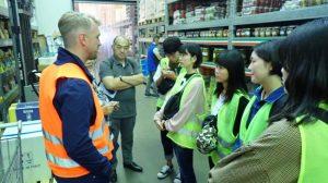 ②Hamberger Gro-markt Berlin GmbH(8月22日) 施設内の視察 (2)