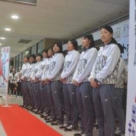 【出農太鼓部】ソフトボール女子TOP日本代表空港歓迎セレモニーへ出演しました!