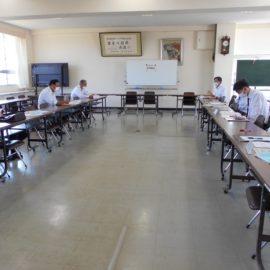 令和2年度第1回学校評議員会が行われました