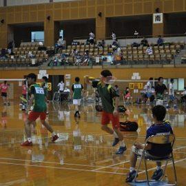【バドミントン部】島根県ジュニアオリンピックに出場しました