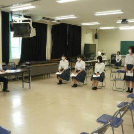 【進路指導部】夏季面接講座・履歴書講座