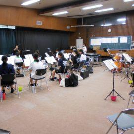 吹奏楽部「吹奏楽フェスティバルinいずも」で演奏を行いました