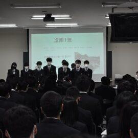 【環境科学科】プロジェクト発表会を行いました