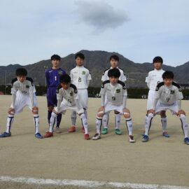 【サッカー部】令和2年度 島根県高等学校サッカー新人大会に出場しました