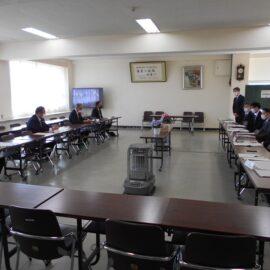 令和2年度第2回学校評議員会が行われました