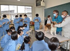 【動物科学科】動物衛生講習会を開催しました。