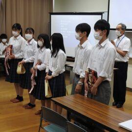 【農業クラブ】意見発表・プロジェクト発表県大会に出場しました