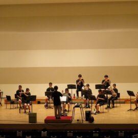 【吹奏楽部】ホール練習の様子です!