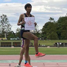 【陸上競技部】国体島根県予選大会に参加しました。